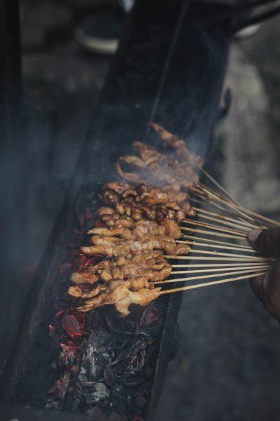 sate daging di Jakarta